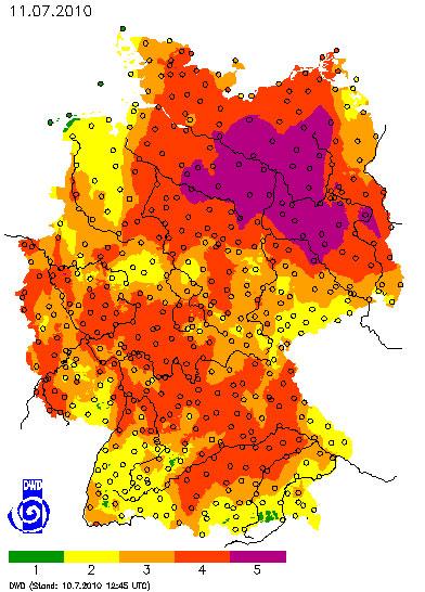 Quelle: Deutscher Wetterdienst (http://www.dwd.de/)