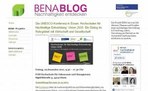 BENA-Blog
