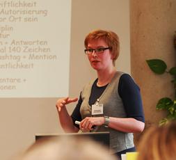 """Christina Quast als Referentin bei """"Medienfrauen NRW 2015"""""""